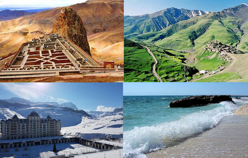 different climates in azerbaijan