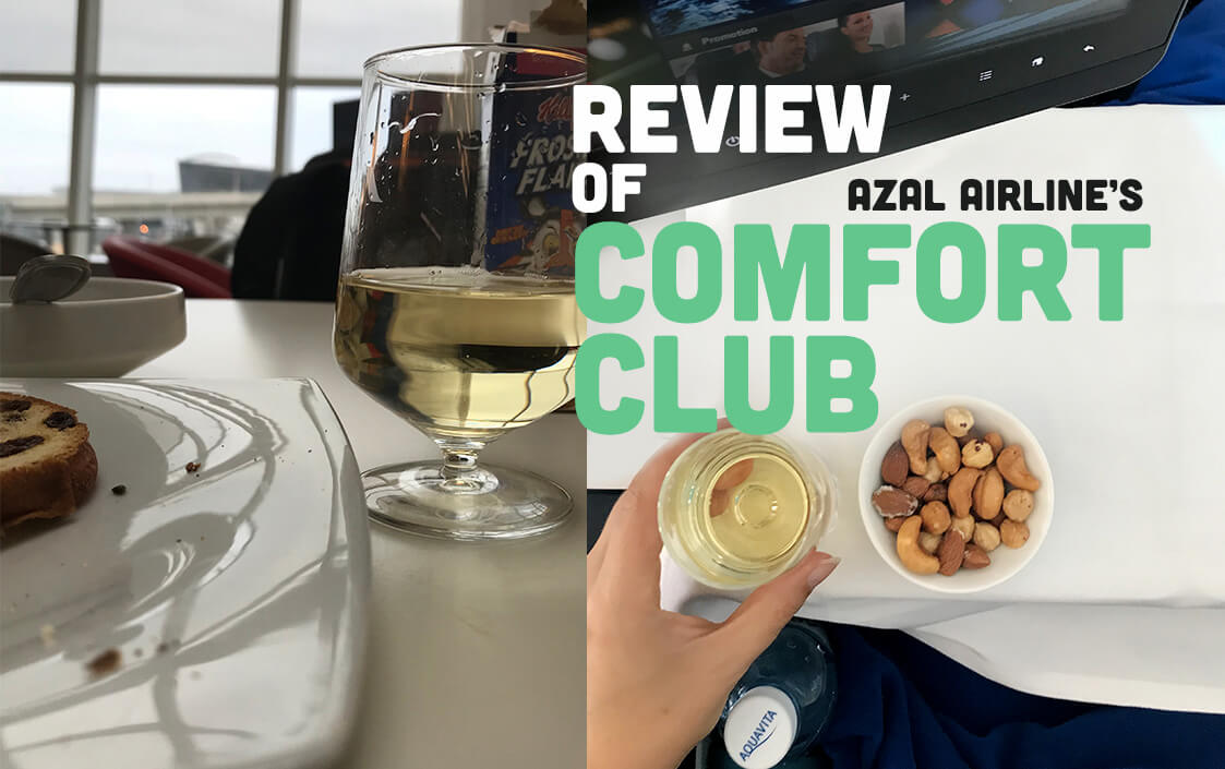 Review of Azal Airlines Comfort Club