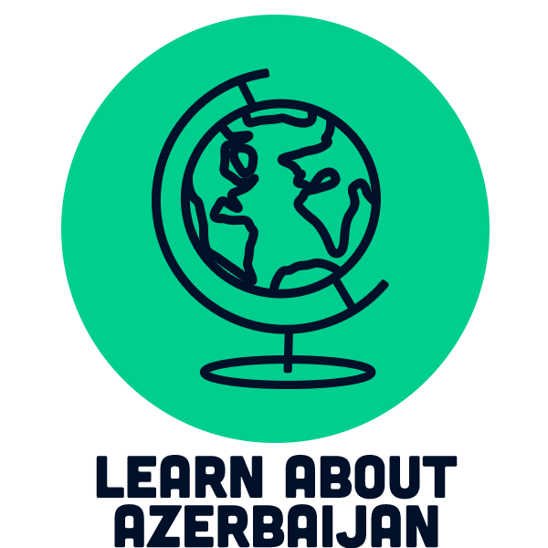 Learn about Azerbaijan icon