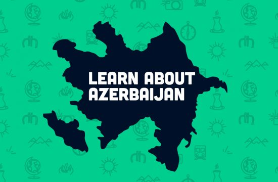 Learn about azerbaijan, where is azerbaijan on a map