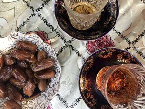 Tea and Dates in Azerbaijan