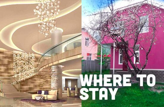 Options for places to stay in Azerbaijan