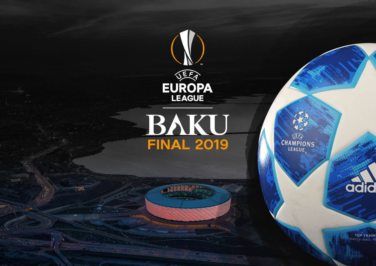 Europa Football League Final Baku Soccer Match