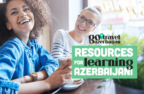 Two women laughing Learning Azerbaijani